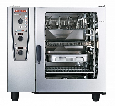 Пароконвектомат Rational Combimaster 102G PLUS ГАЗ A129300.30.202